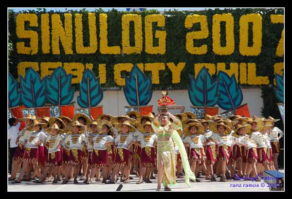 Sinulog Festival - Photo taken by Ranz Ramos